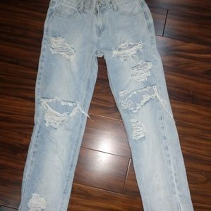 One Teaspoon Awesome Baggies Jeans Size 27